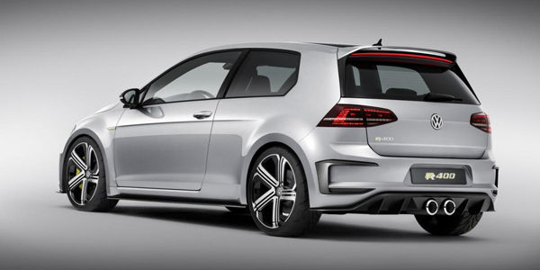 Le concept Golf R400 vers la production