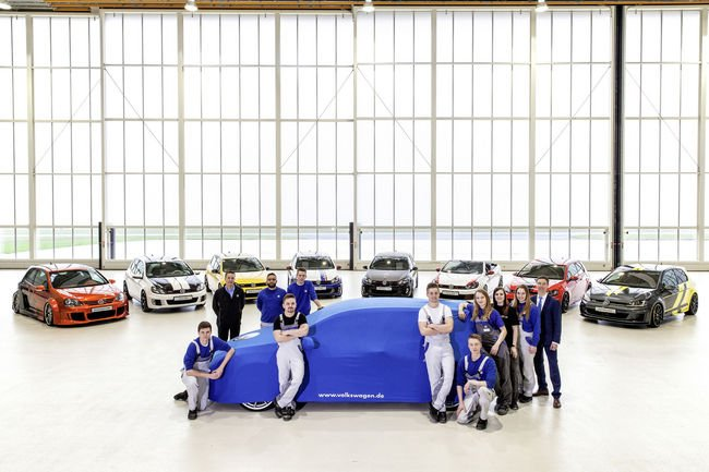 Wörthersee : la surprise des apprentis de VW