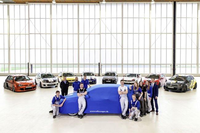 Wörthersee : la surprise des apprentis de VW