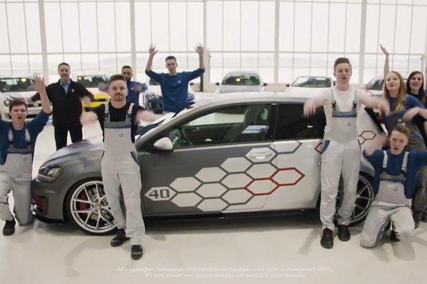400 ch pour la Golf GTI Heartbeat des apprentis de VW