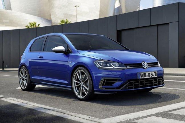 Carnet de commande ouvert pour la VW Golf R