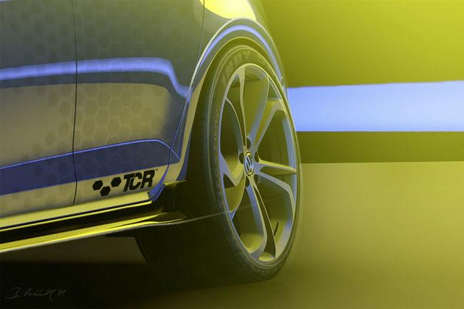 La VW Golf GTI TCR présentée au Festival Wörthersee