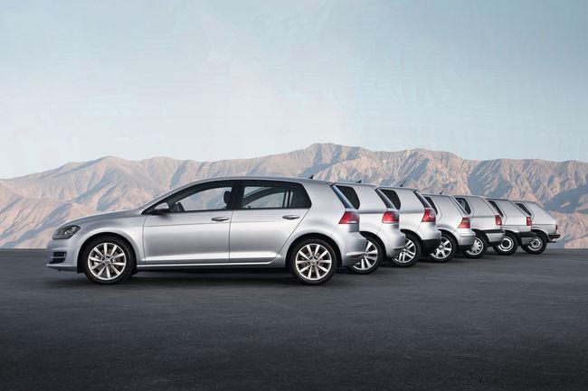 Volkswagen célèbre les 45 ans de la Golf