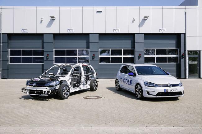 eGon : la VW e-Golf dévoile ses dessous