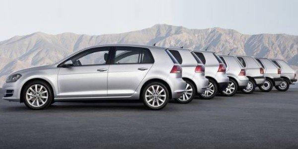 Déjà 30 millions de VW Golf produites !