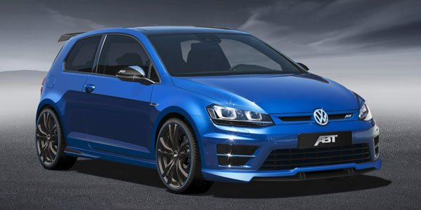 ABT devergonde la VW Golf 7 R