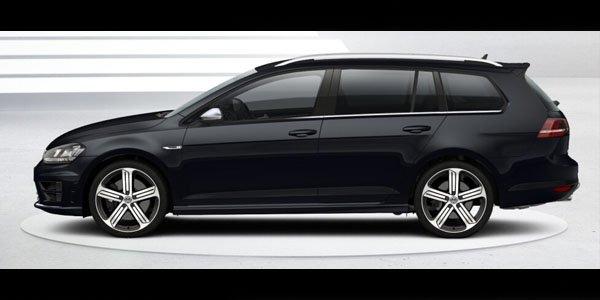Une déclinaison break pour la VW Golf R ?