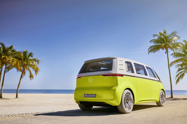 Le concept VW I.D. BUZZ en production dès 2022
