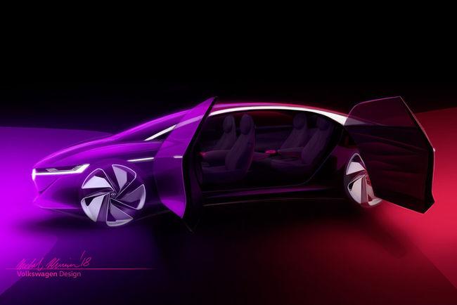 Genève : le concept I.D.VIZZION au programme de VW