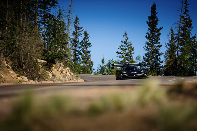 VW I.D. R Pikes Peak : première sortie dans le Colorado