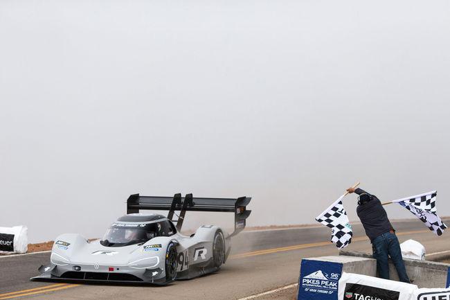 Record absolu pour le VW I.D. R Pikes Peak dans le Colorado