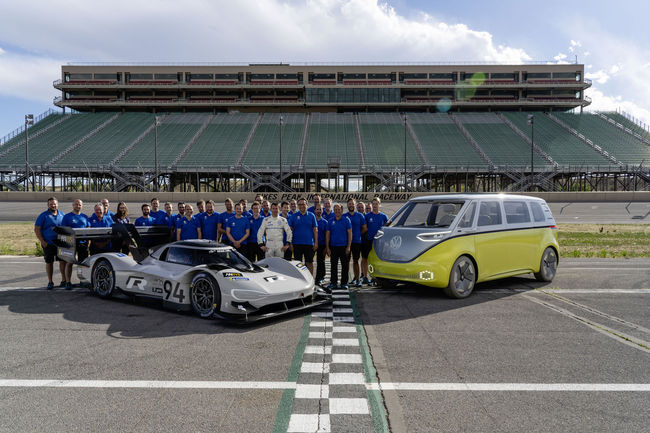 VW ID.R : après Pikes Peak, le Nürburgring