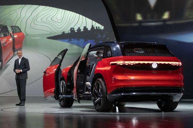 Shanghai : concept Volkswagen ID. ROOMZZ