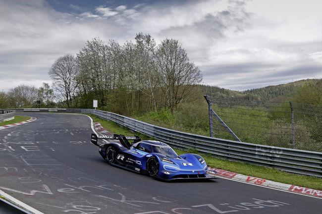 Le VW ID.R signe le record électrique de la Nürburgring Nordschleife