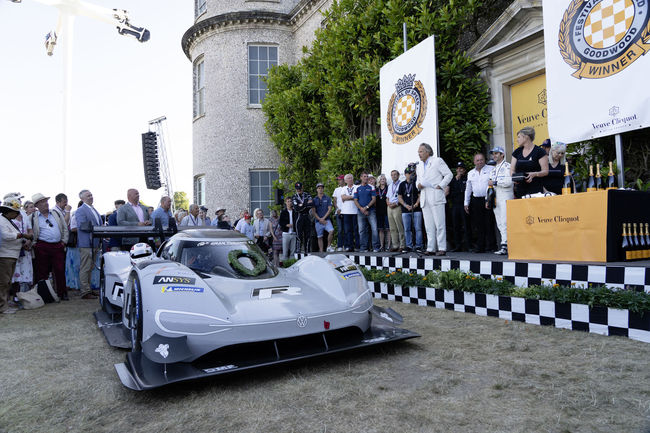 Le prototype VW ID.R de retour à Goodwood