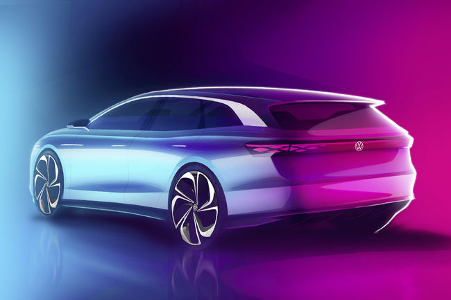 Le VW ID. Space Vizzion attendu à Los Angeles