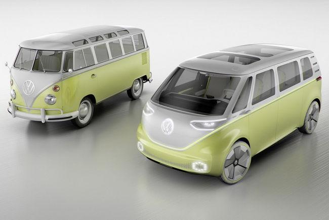 VW I.D. Buzz : le retour du Combi en électrique et autonome