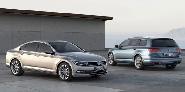 VW présente la nouvelle Passat à Potsdam