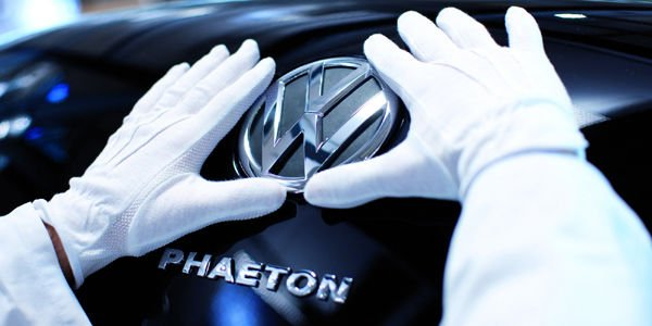 Production suspendue pour la VW Phaeton
