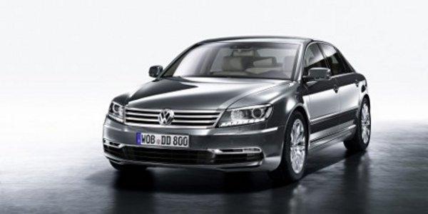 la Volkswagen Phaeton mise à jour