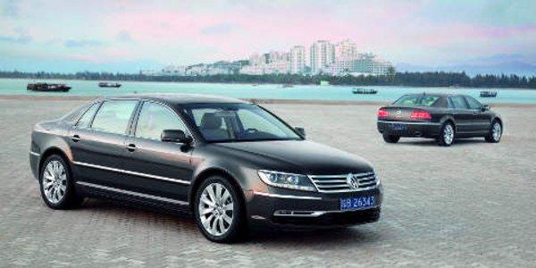 La Volkswagen Phaeton 2010 en images