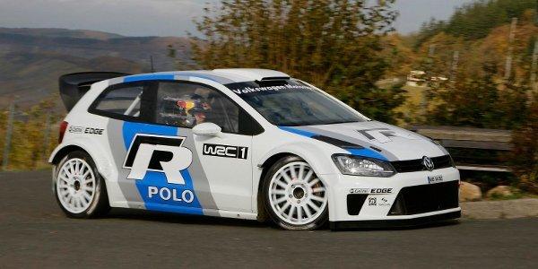 Premiers tests pour la VW Polo R WRC