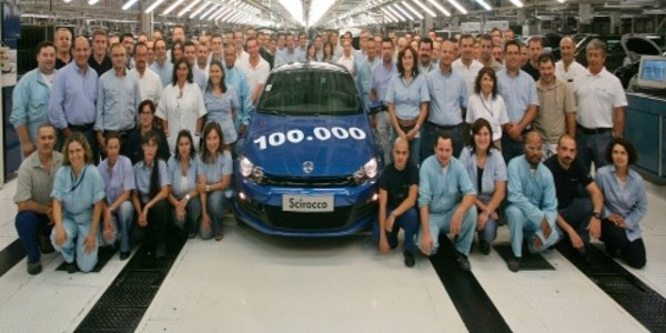 Volkswagen Scirocco : déjà 100 000.