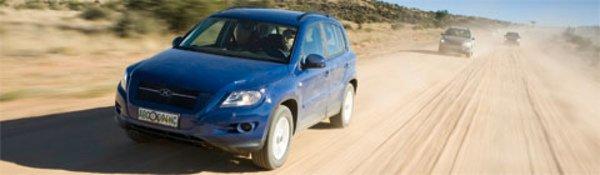 Le VW Tiguan se dévoile petit à petit