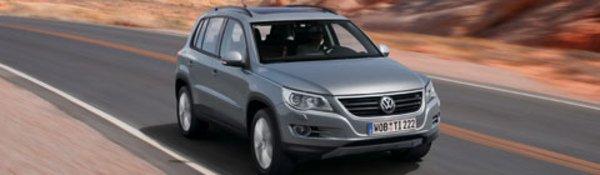 Le VW Tiguan fait son entrée