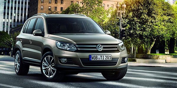 Nouveau Volkswagen Tiguan, en avance