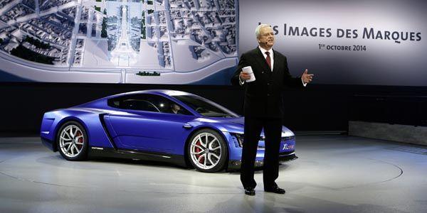 VW XL Sport Concept : motorisé par Ducati