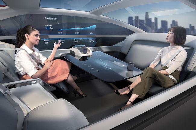 Concept autonome 360c de Volvo Cars : oubliez l'avion