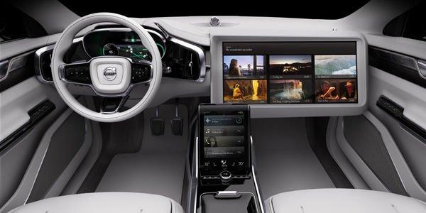 Volvo Concept 26 : le cockpit du futur