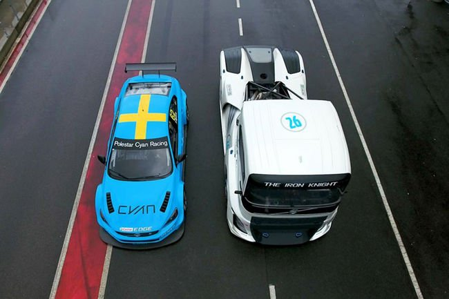 Volvo Iron Knight vs Volvo S60 Polestar