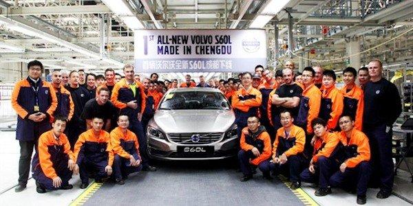 Volvo produit la S60L en Chine