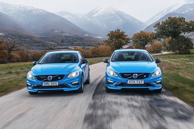 Berline Volvo S60 et Break V60 Polestar