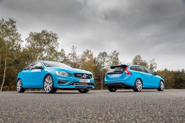 Les Volvo S60 et V60 Polestar en approche