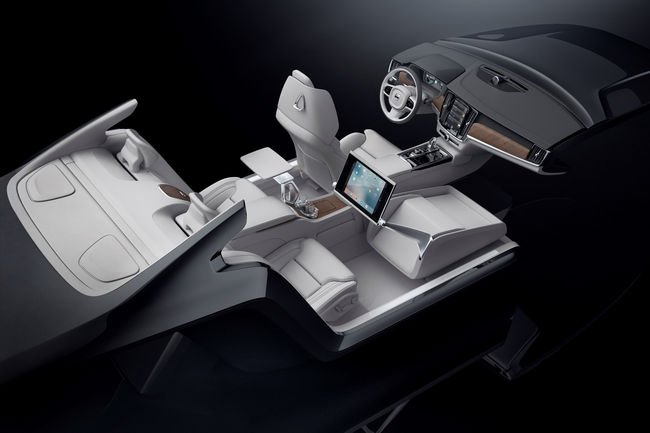 Le concept Volvo Lounge Console intégré à la S90 Excellence