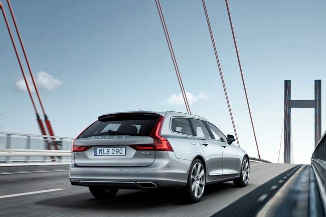 Le nouveau Volvo V90 Break à Genève