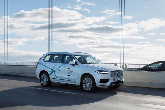 Volvo veut expérimenter la conduite autonome en Chine