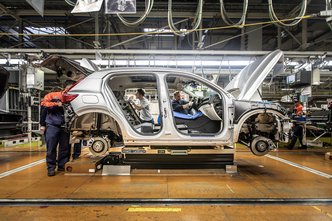 Lancement en production du Volvo XC40
