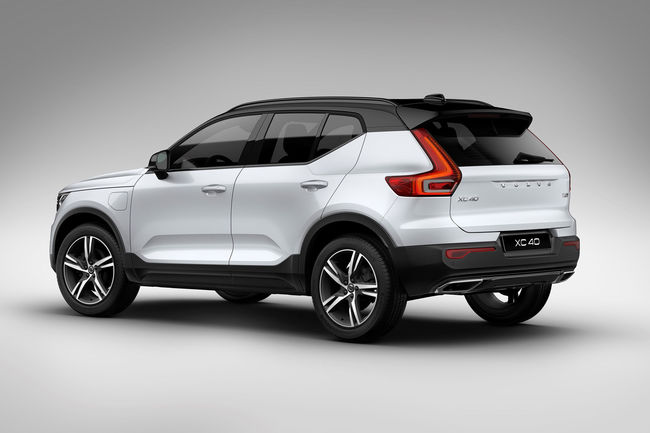 Le Volvo XC40 arrive en version hybride rechargeable