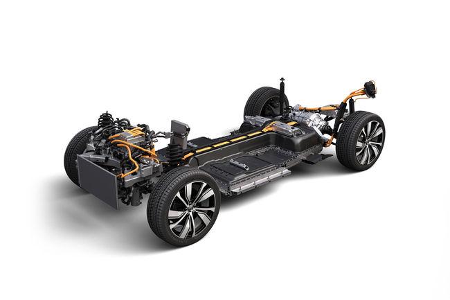 Volvo lève le voile sur les dessous de son SUV XC40 électrique