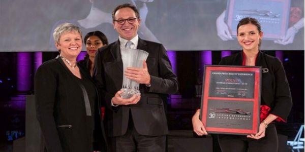 Le Volvo XC90 remporte le Grand Prix creativ'experience 2015