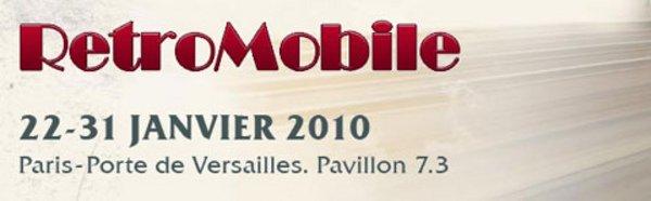 Votre annonce à Rétromobile 2010