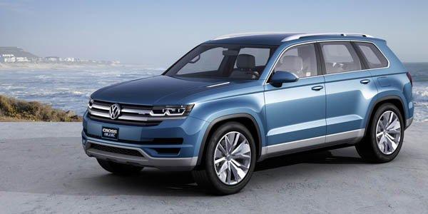 VW CrossBlue Concept : un SUV familial