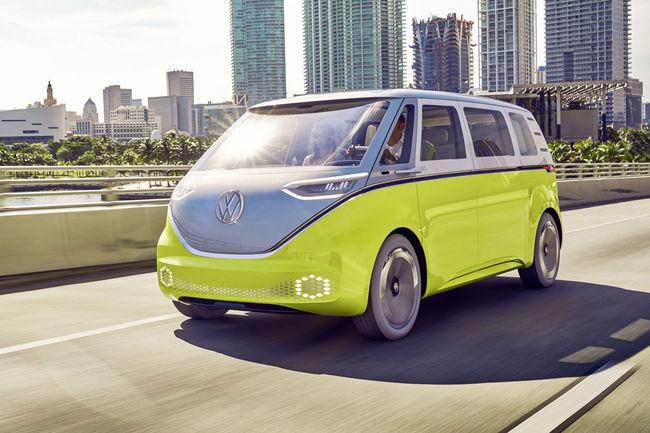 Volkswagen Crossover concept : 100 % électrique