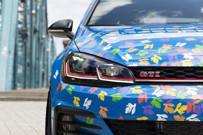 VW Golf GTI Rabbit Confetti Concept