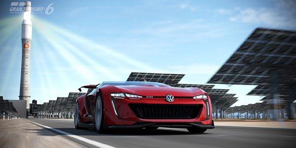 Le VW GTi Roadster Vision GT est arrivé