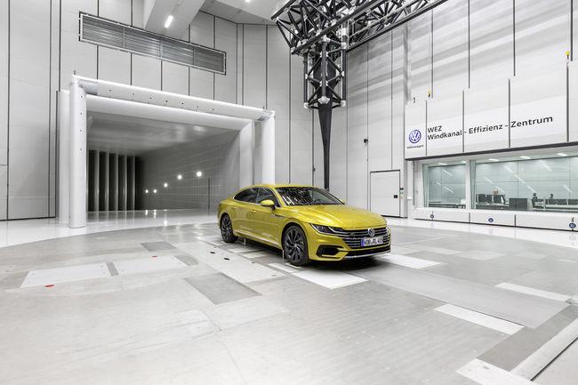 VW inaugure une nouvelle soufflerie à Wolfsburg